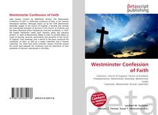 Обложка Westminster Confession of Faith