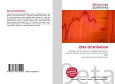 Bookcover of Zeta Distribution