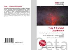 Capa do livro de Type-1 Gumbel Distribution
