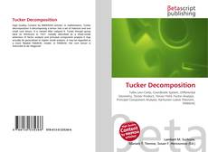 Capa do livro de Tucker Decomposition
