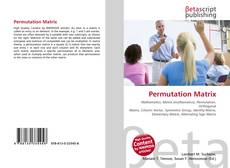 Couverture de Permutation Matrix