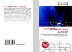 Bookcover of X-12-ARIMA (software package)