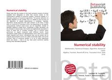 Couverture de Numerical stability