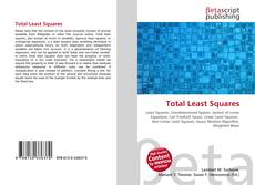 Bookcover of Total Least Squares