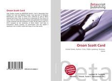 Capa do livro de Orson Scott Card