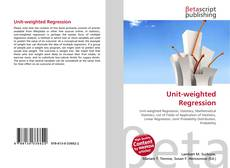Bookcover of Unit-weighted Regression