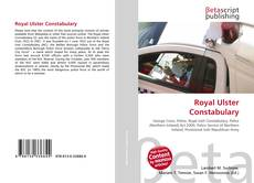 Couverture de Royal Ulster Constabulary