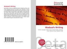 Buchcover von Wadaad's Writing