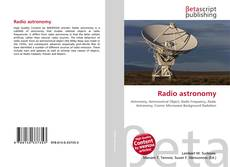 Bookcover of Radio astronomy