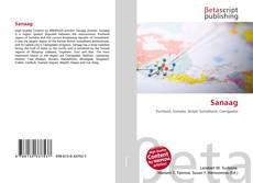 Capa do livro de Sanaag