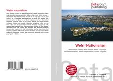 Bookcover of Welsh Nationalism