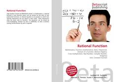 Portada del libro de Rational Function