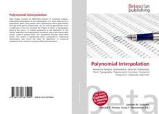 Couverture de Polynomial Interpolation