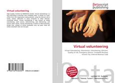 Portada del libro de Virtual volunteering