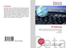 Pi Calculus kitap kapağı