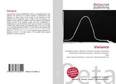 Bookcover of Variance