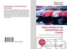 Copertina di Police Vehicles in the United States and Canada