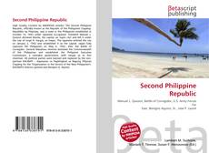 Second Philippine Republic的封面