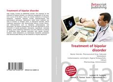 Bookcover of Treatment of bipolar disorder
