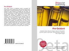 Bookcover of Pro-Oxidant