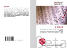 Bookcover of p-group