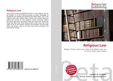 Bookcover of Religious Law