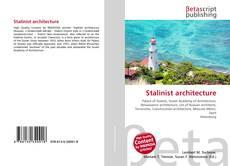 Stalinist architecture kitap kapağı