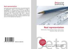 Bookcover of Real representation