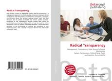 Copertina di Radical Transparency