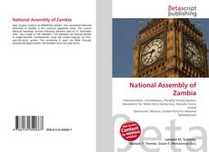 Borítókép a  National Assembly of Zambia - hoz