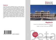 Bookcover of Replevin