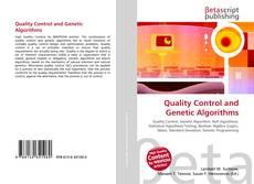 Borítókép a  Quality Control and Genetic Algorithms - hoz