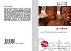Bookcover of Tupi People