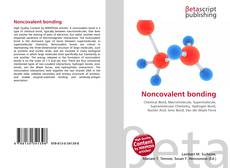 Bookcover of Noncovalent bonding