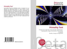 Primality Test的封面