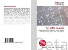 Borítókép a  Reynolds Number - hoz