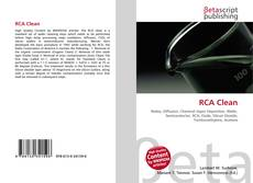 Bookcover of RCA Clean