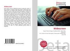 Buchcover von Widescreen