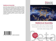 Bookcover of Rabbinical Assembly