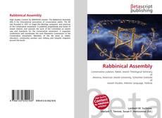 Borítókép a  Rabbinical Assembly - hoz