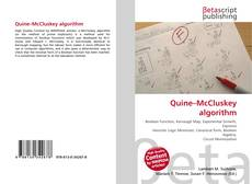 Capa do livro de Quine–McCluskey algorithm
