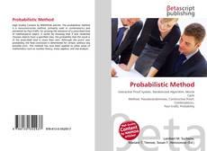 Bookcover of Probabilistic Method