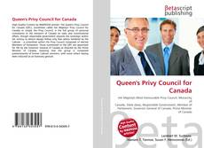 Bookcover of Queen's Privy Council for Canada