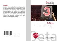 Capa do livro de Referee