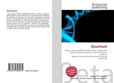 Bookcover of Quantum