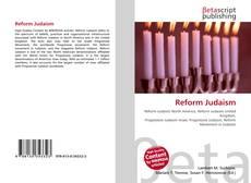 Portada del libro de Reform Judaism