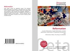 Bookcover of Reformation