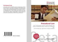 Couverture de Procedural Law