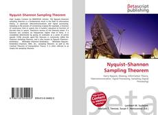 Обложка Nyquist–Shannon Sampling Theorem