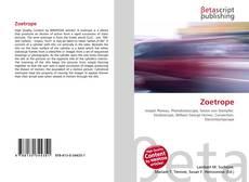 Borítókép a  Zoetrope - hoz